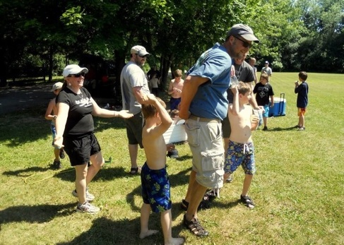 Camping cub scouts pack 231 for Indian mound fish camp